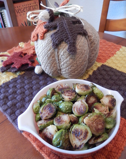 Shellys%2BRoasted%2BBrussel%2BSprouts Weight Loss Recipes Healthy Thanksgiving Recipes: Appetizers, Sides & Desserts