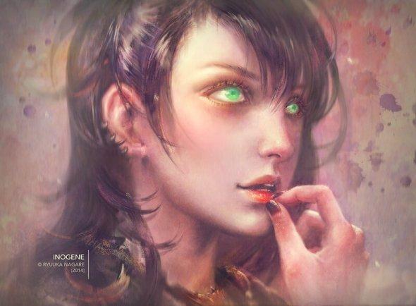 Livia Prima dopaprime deviantart artstation ilustrações fantasia games mulheres oriental