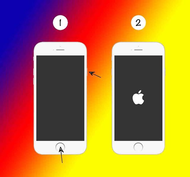 Penyebab Iphone Mati Sendiri, Mengatasi nya dengan restart iphone