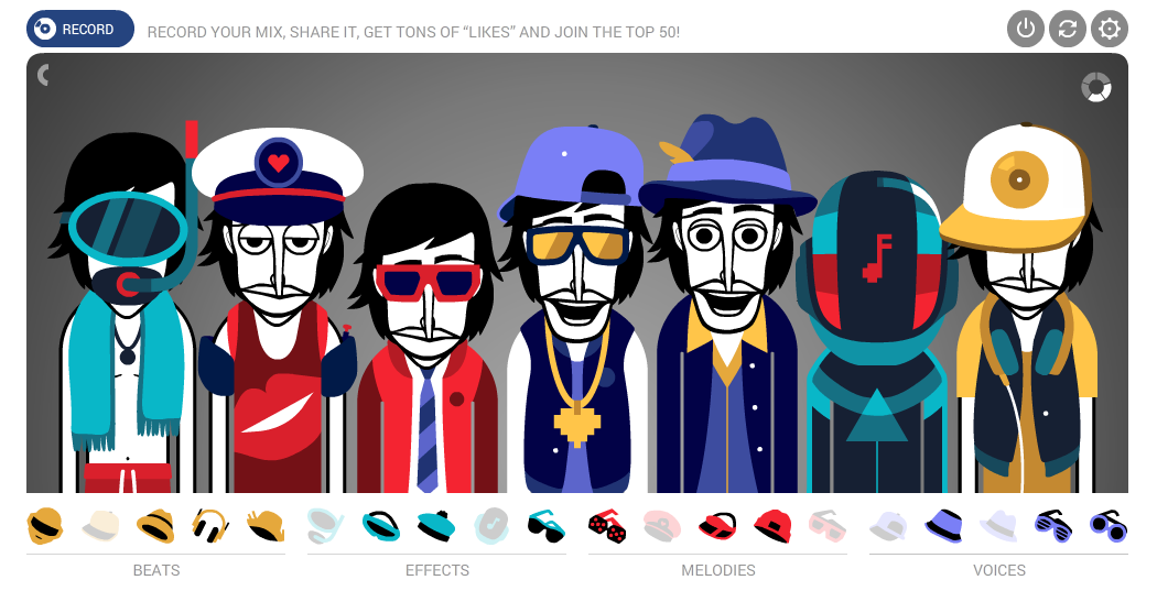 Image result for play incredibox version 3