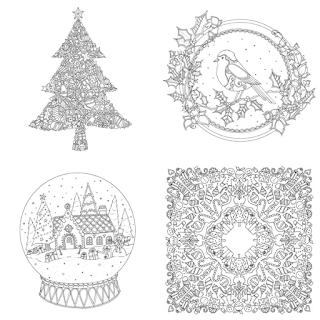 as cores do natal johanna basford livro de colorir para sextante johanna's christmas lançamento novidade previa por dentro conheça desenho ilustração