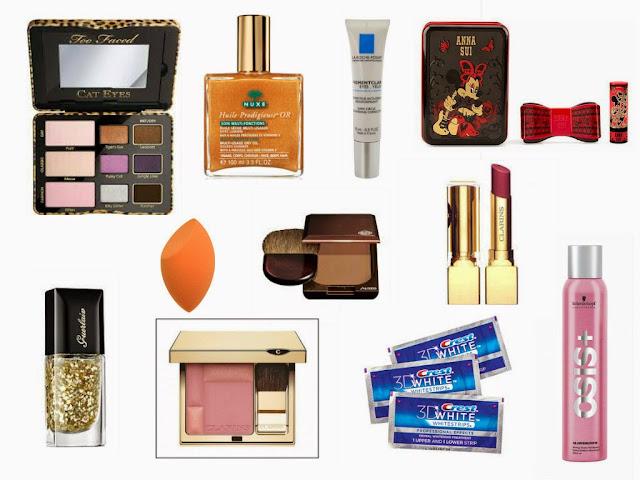 Escentual - Wishlist - 2015 - Make up - Beauty - haircare - nail polish - skincare - teeth whitening