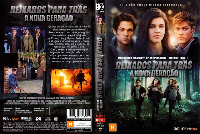 Capa DVD Deixados Para Trás A Nova Geração (Oficial)