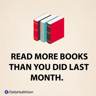 Membaca Lebih Banyak Buku Dari Yang Kamu Lakukan Bulan Lalu (Identitas)