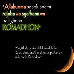DP Doa Rajab dan Sya'ban