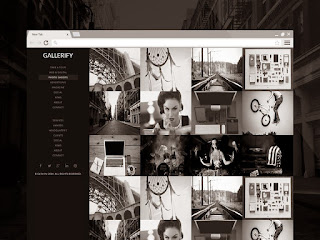 Gallerify Responsive Blogger Template