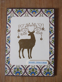 Christmas Deer Stampin' Up!