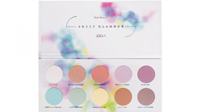 zoeva, beauty. make-up, zoeva sweet glamour palette occhi,