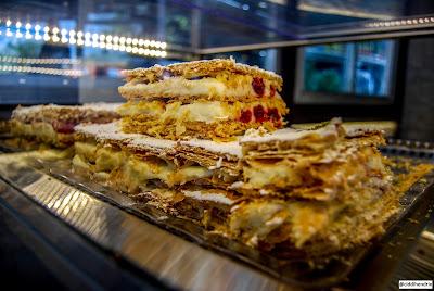 Ergün Pastanesi, milföy tatlısı