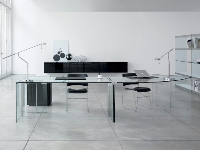 Glass Desks 4