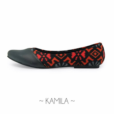 Sepatu Batik Kamila