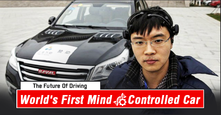 Watch the World's First Mind-Controlled Car in Action