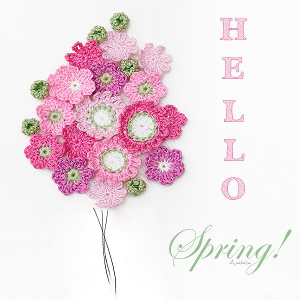 Hello Spring!  Anabelia Craft Design
