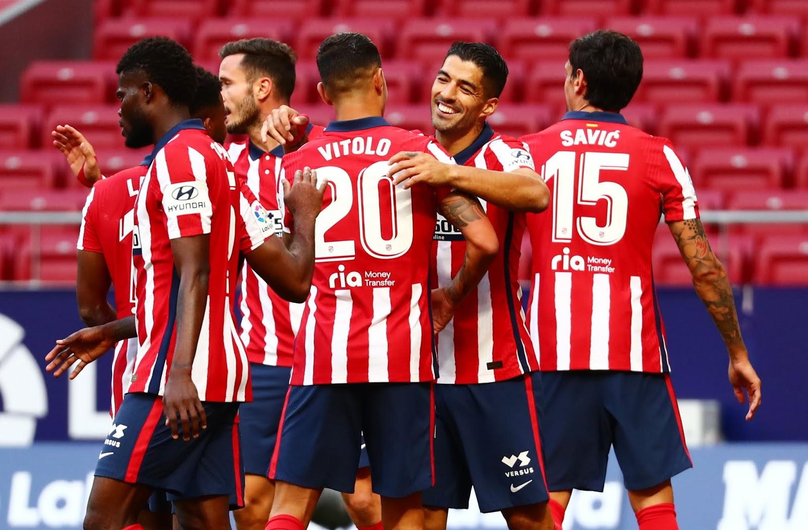 Luis Suarez en el Atlético de Madrid