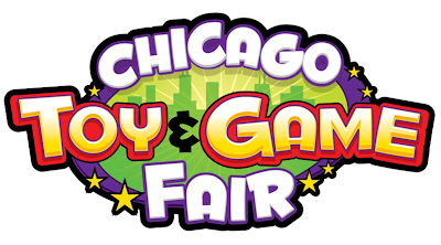 Getting hands on at the Chicago Toy & Game fair. #Giveaway