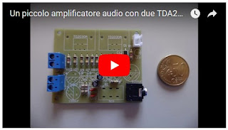 Video dell' amplificatore su Youtube