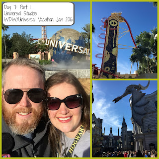 Disney World/Universal Vacation Vlog Day 7: Part 1 – Universal Studios – January 2016