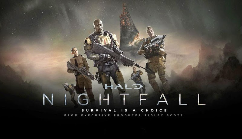 halo nightfall movie trailer teaser trailer