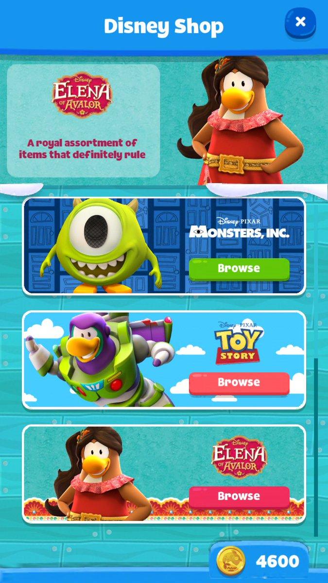 Actualización 1.1) ¡Llegan los disfraces de Disney a Club Penguin ...