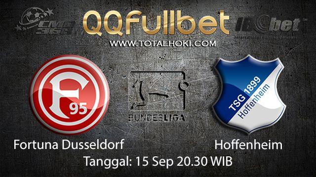Prediksi Bola Jitu Fortuna Dusseldorf vs Hoffenheim 15 September 2018 ( German Bundesliga )