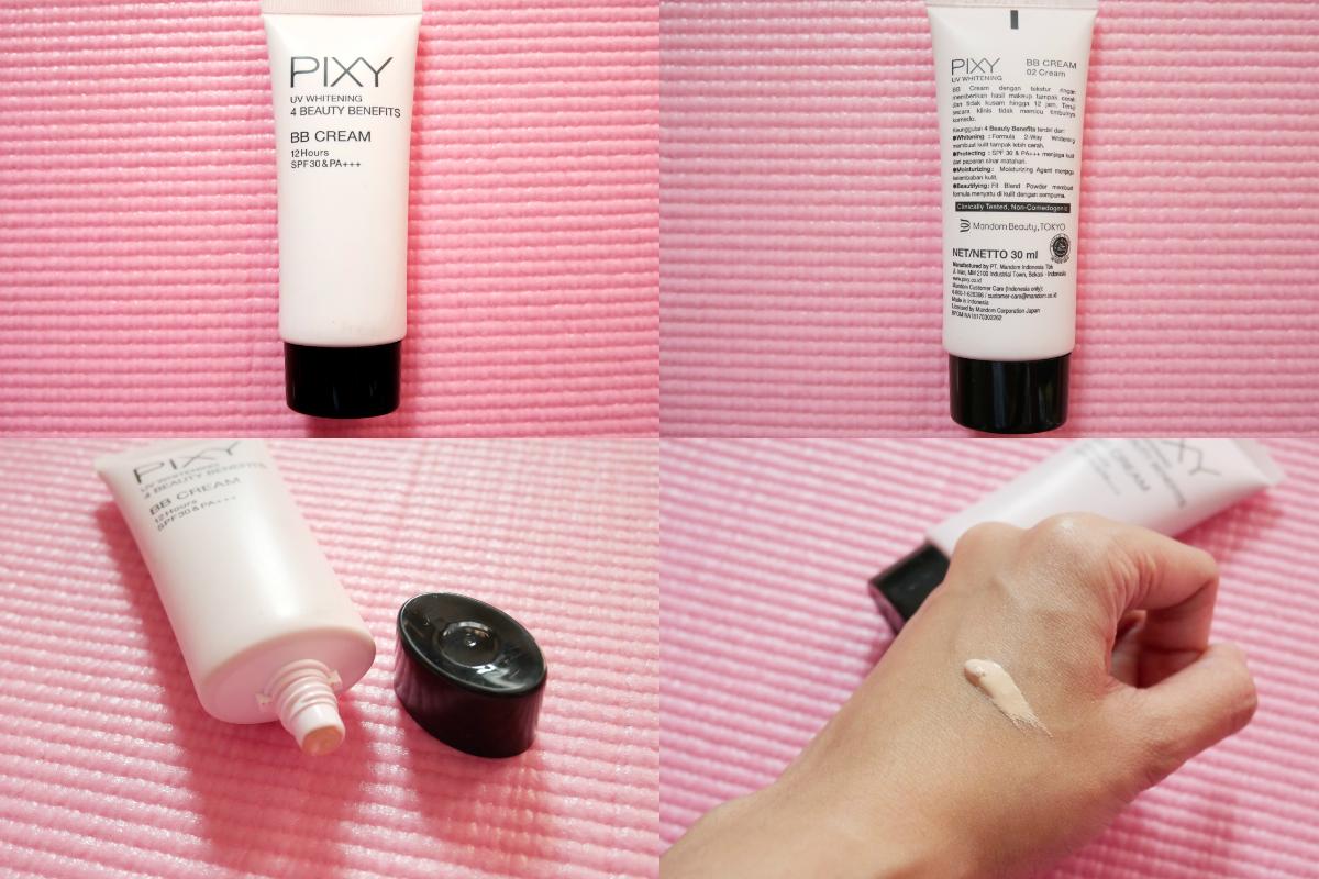 Cyndaadissa Indonesian Blogger Review Cobain Semua Produk Pixy Bb Cream Uv Whitening Shade 02 Klaim
