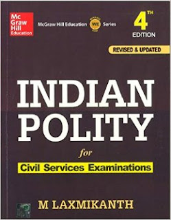 Image Indian Polity , Fourth Edition- Laxmikanth, M