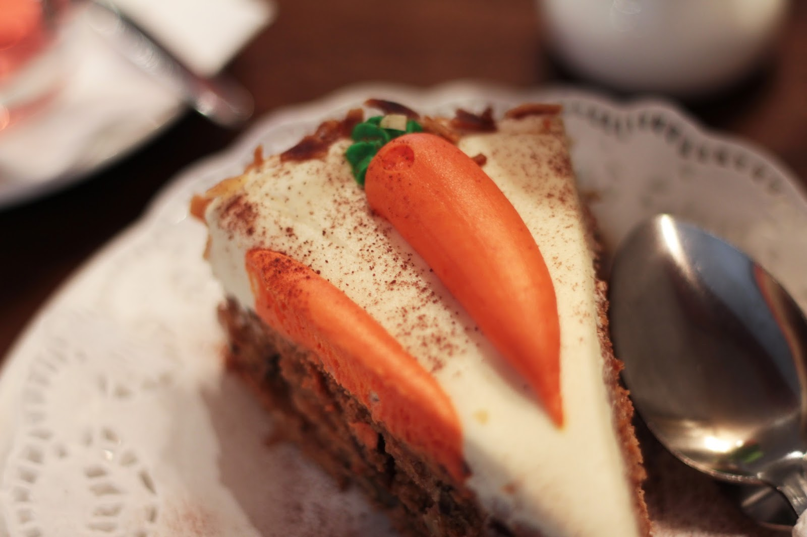 andrews cafe tea rooms sheffield carrot cake