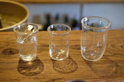 自然派ワイン&コーヒー店 peg(ペグ)前田一郎さんのガラスコップ