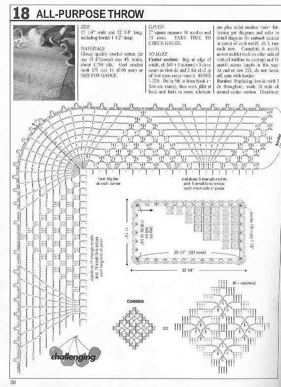 revista de patrones crochet para tu hogar