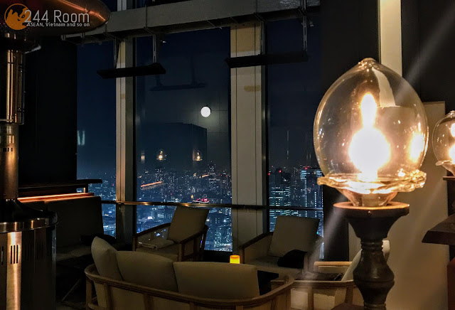 Andaz Tokyo Rooftop bar アンダーズ東京ルーフトップバー2
