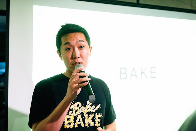 BAKE tart CEO Shintaro Naganuma