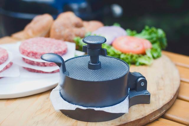 Weston single burger press
