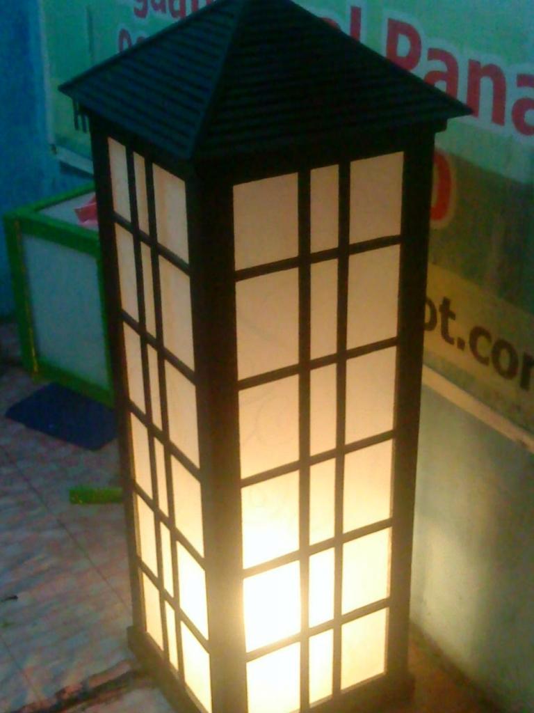 Desain Lampu Taman Jepang Rajasthan Board H