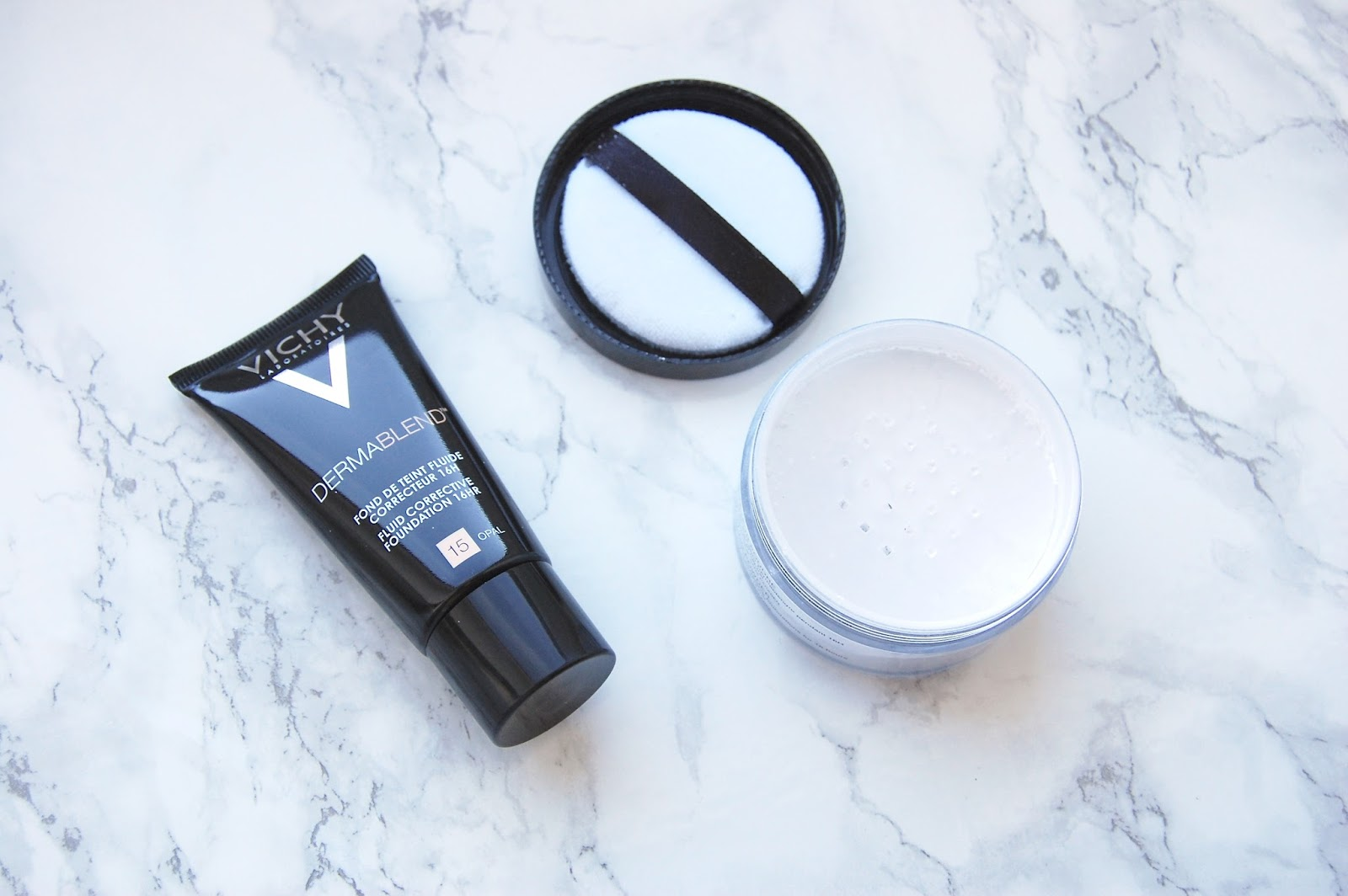 Read more for my Vichy Dermablend Foundation and Powder Review