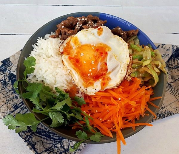 Bibimbap - Korean Rice Bowl