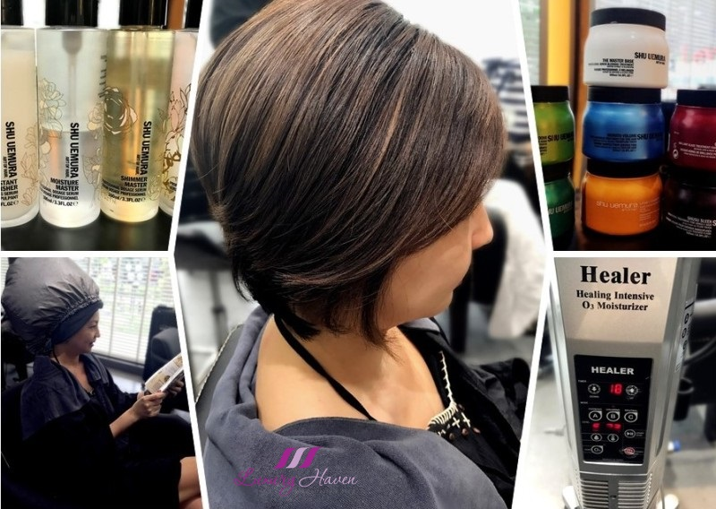 clover hair boutique shu uemura master ceremony treatment