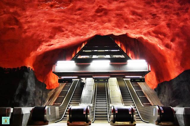 Solna Centrum, metro de Estocolmo