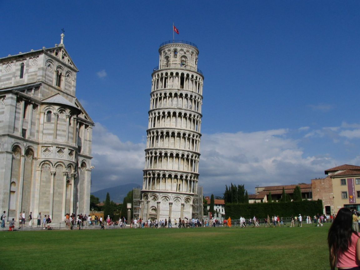 Katie's Global Adventure: Day 6: Leaning Tower Of Pisa