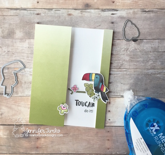 Newton's Nook Designs & Xyron Inspiration Week - Toucan Do It by Jennifer Timko |Toucan Party Stamp Set by Newton's Nook Designs #newtonsnook