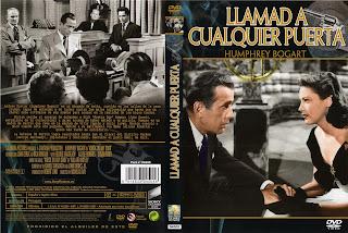 Carátula: Llamad a cualquier puerta (1949) Knock on Any Door