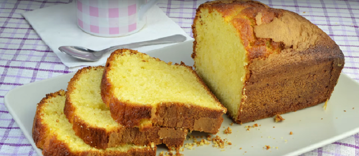 EASY MOIST LEMON YOGURT CAKE RECIPE