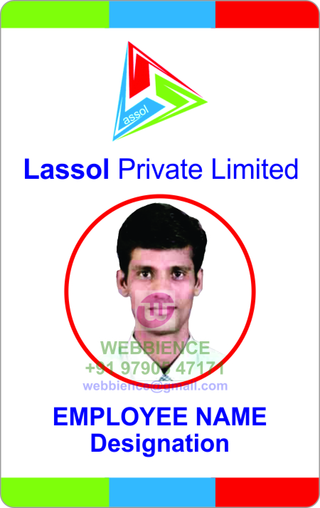 Webbience: Creative ID Card Templates for Engineering Company