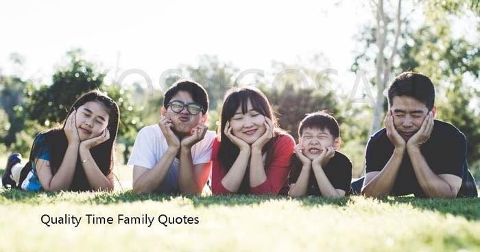 Kata Mutiara Quality Time Keluarga Sederhana Untuk Caption