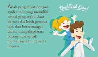 anak perempuan sangat membutuhkan ayahnya