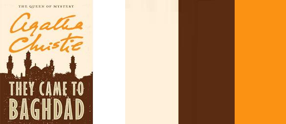 Una portada de un libro y su respectiva paleta de colores