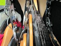 gequetscht: IPOW- 8 Set platzsparende Kleiderbügelhalter Schrankbügel Kleiderbügel kleiderstange Mehrfachkleiderbügelhalter