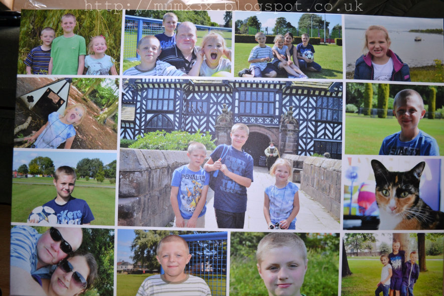 Photobox collage canvas review