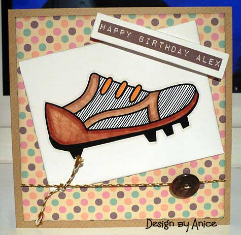 Funky Hand Thoughts Card Making And Papercraft Pictures
