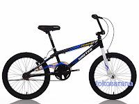 Sepeda BMX United Flame X7 Rangka Aloi 20 Inci