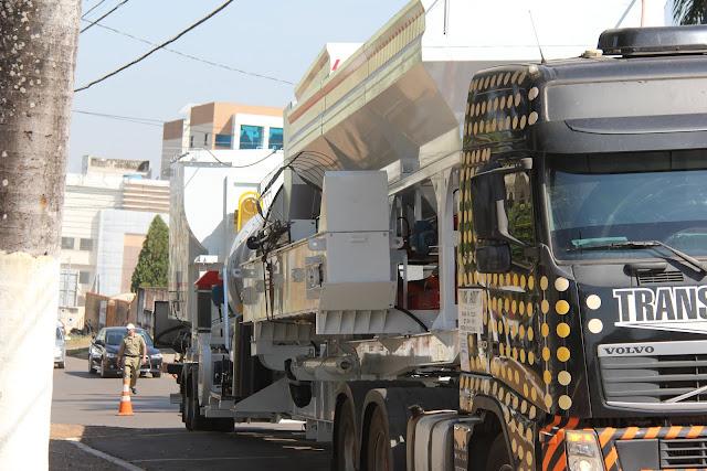 Usina de asfalto de Cacoal é entregue e ampliação da pavimentação tem plano impactante